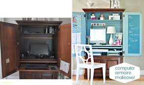 diy craft armoire with fold out table inspirational diy craft table ideas home design