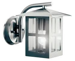 vermont stainless steel mains powered external wall lantern