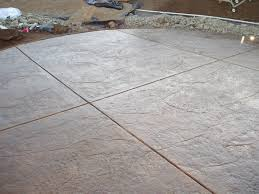 Seamless Stamped Concrete Pictures by Stamped Concrete Patios Installed