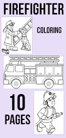 firefighter coloring pages free printables firefighter free