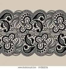 black lace ribbon 15 lace ribbon vector images vintage lace frame vector free