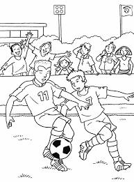 16 dessins de coloriage Football à imprimer