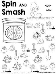 spin and smash articulation play dough worksheets by jenna rayburn
