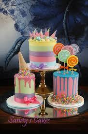 unique birthday cakes what a trio of cakes birthday cakes cake