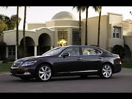 lexus sedan 2008 2008 lexus ls 600h l black front and side 1280x960 wallpaper