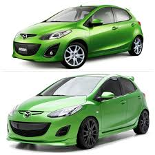 mazda 2 mazda 2 3d carbon body kit pimp mỳ toy pinterest mazda