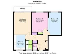 let by greenstone brand new 2 double with balcony nw6 4rn 2