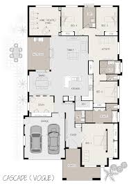 Single Storey Bungalow Floor Plan by Cascade Single Storey Marksman Homes Illawarra And Southern