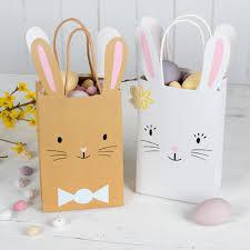 easter bags white easter bunny bag rex london dotcomgiftshop