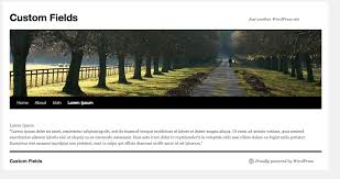 create custom page templates in wordpress