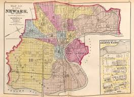 map of essex county nj essex county