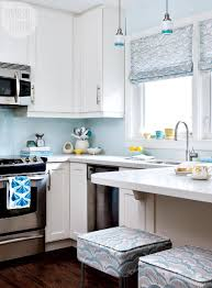 beautiful blue vintage inspired kitchen makeover style at home