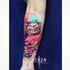 cute little owl tattoo on arm best tattoo ideas gallery