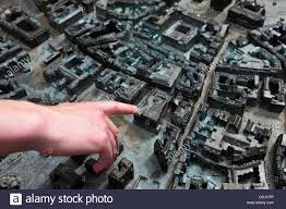 Wiesbaden Germany Map by A Man Points Out A Building On A 3 D Map In Wiesbaden Germany