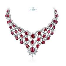 pink ruby necklace images 293 best andreoli alcoro images jewelry necklaces jpg
