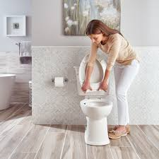 Eljer Toilet Seats Home Depot Acticlean Self Cleaning Elongated Toilet American Standard Toilets