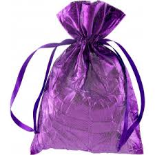 purple gift bags treat bags gift wrap mardigrasoutlet