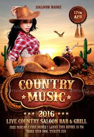 Template Flyer Country Free | country western flyer template free best 20 country and western