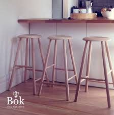 Designer Bar Stools Kitchen by Bok U0027 70cm Danish Modern Bar Stool Scandi Design Wooden Kitchen