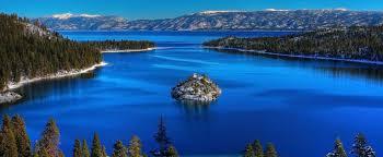 less algae gives lake tahoe its blue color