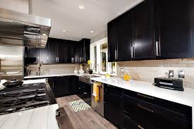 Stylish Galley Kitchen Designs Designing Idea - Kitchen photos dark cabinets