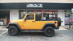 orange jeep lifted blog american wheel and tire part 26