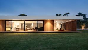 a wood and glass holiday house in australia design milk