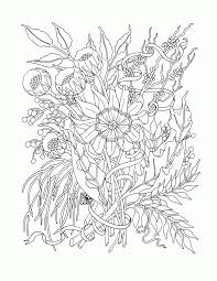 flower coloring pages coloring home