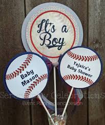 baseball baby shower personalized 3 centerpiece vintage baseball birthday baby