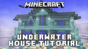 minecraft underwater house blueprints home design and furniture