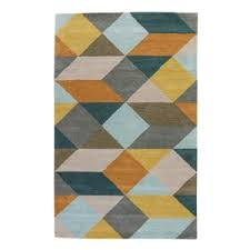 modern yellow u0026 gold area rugs allmodern