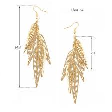 gold earrings design with weight 2017 new arrival fashionable 22k light weight gold earring arabic