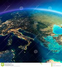 Italy Greece Map by Highly Detailed Political Map Of Greece Vector Stock Vector