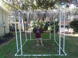 updated simple diy sukkah build your own from pvc pipe free