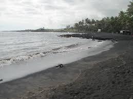 black sand u0026 green turtles in hawaii u2013 deano in america