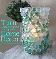 Homemade Home Decor Crafts 23 Best Craft Ideas With Glass Gems Sometimes Called Glass Beads