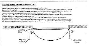 replace undermount bathroom sink download installing undermount bathroom sink designcreative me