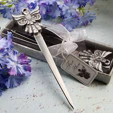 letter opener favors angel design letter opener favor sincerity weddings
