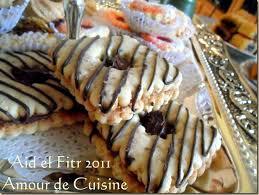 amour cuisine chez sihem aid el fitr 2011 les gateaux algeriens amour de cuisine