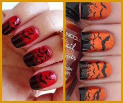 imagenes de uñas decoradas de jalowin diseños de uñas decoradas para halloween decoración terrorífica