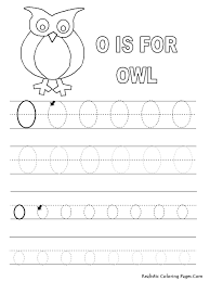 o letters alphabet coloring pages printable realistic coloring pages