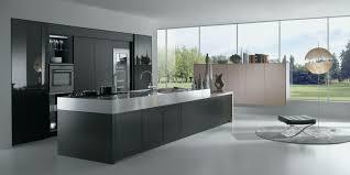 cuisine avec ilot table meuble ilot central cuisine élégant cuisine brillante ouverte