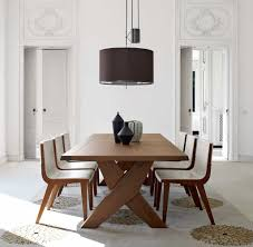Modern Dining Room Ideas Furniture Fabulous Solid Wood Maxalto B U0026b Italia Dining Table
