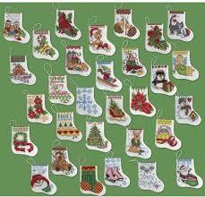 bucilla more tiny ornaments cross stitch kit