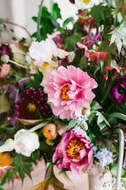 food and flowers may peonies poppies and strawberry schaum torte