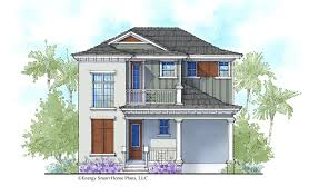 the barbuda house plan by energy smart home plans