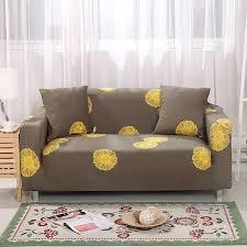 sofa hussen stretch aliexpress gelb blumen universal stretch funiture
