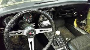 corvette steering wheel cover 350 and a 4 speed 1974 corvette