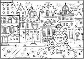 ✄ Printable Coloriages de Noël pour les kids ✄