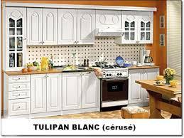 cuisine en kit cuisine kit discount tulipan mdf blanc
